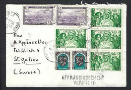 ALGERIE 1951: LSC Pour La Suisse - Brieven En Documenten