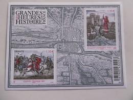 FRANCE 2012  F4704  * *   NO YT 4704/4705     BLOC LES GRANDES HEURES DE L HISTOIRE      CLOVIS - Nuovi