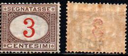 ITALIA REGNO - 1908 - MARCA DA BOLLO - VALORE DA 3 CENT. - MNH - Impuestos