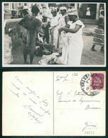 PORTUGAL - GUINÉ  [ 032 ] - COSTUMES VENDEDORES MERCADO ?!? - Guinea-Bissau
