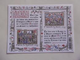 FRANCE 2013  F4828  * *   NO YT 4828/4829     BLOC  LES GRANDES HEURES DE L HISTOIRE DE FRANCE   MURET - Nuovi