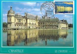 4018 -  CHATEAU DE CHANTILLY, Oblitération 1er Jour Le 24-02-2007 à Chantilly (60) - MF - 2000-09