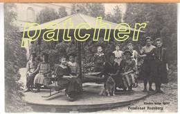 Arenberg (Koblenz) Pensionat, Kinder Beim Spiel, Karussell, 1900 - Koblenz