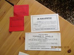 Sainte Radegonde Laboratoire Janelle Veterinaire Produit Baume Breton Galliphyle - 1900 – 1949