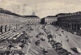 Italië - Piemonte -  Torino/Turijn - Piazza San Carlo - Zwart/wit - Gebruikt - Piazze