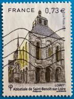 France 2017 : Abbaye De Saint-Benoit-sur-Loire N° 5146 Oblitéré - Usati