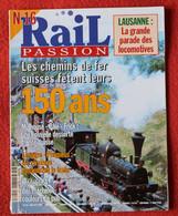 Rail Passion N° 16 07/1997  Liste Des Articles Dans La Description - Trains