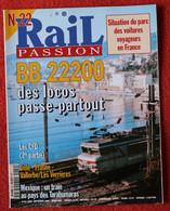 Rail Passion N° 22  09/1998   Liste Des Articles Dans La Description - Trains