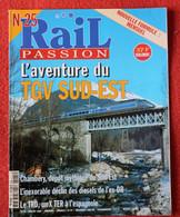 Rail Passion N° 25  01/1999   Liste Des Articles Dans La Description - Trains