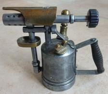 LAMPE à SOUDER Miniature Pièce  De Présentation De Vitrine - Werkzeuge