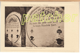 Kellereien Deinhard & Co. Coblenz (Koblenz) Riesenfässer, Inhalt 215 000 Liter, Um 1910 - Koblenz