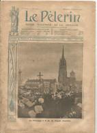 Le Pèlerin Revue Illustrée N° 1542 22 Juillet 1906 Folgoet Finistère  Pierre Martinique Guesclin Nancy Murat Indigène - Unclassified
