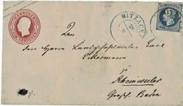 """1859, 2 Gr. A. GSU """" HITZACKER """",  A4413 - Hanovre"""