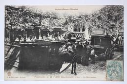 SAINT-OUEN Illustré _ Funérailles De M. L'Abbé Macchiavelli,Curé _ Le Char Funèbre - Saint Ouen