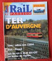 Rail Passion N° 37  03/2000  Liste Des Articles Dans La Description - Trains