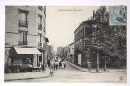 SAINT-OUEN Illustré _La Rue Anselme - Saint Ouen