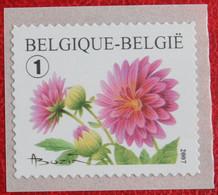 ROL Rouleau Blumen Bloemen Fleur Flower OBC N° 3684 (Mi 3732) 2007 POSTFRIS MNH ** BELGIE BELGIEN / BELGIUM - Ongebruikt