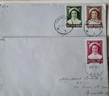 COB 912-913-914 (1953 Oblitérés Namur) - Storia Postale