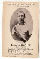 Louis GODART Remporte Le Paris-Strasbourg En 1928 - Personalità Sportive