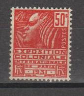Exposition Coloniale N°272a - Ongebruikt