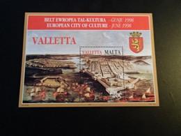 M11218  -  Bloc  MNH Malta 1998  - European Cultural City - Valletta - Malta