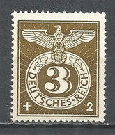 Germany REICH 1943 Year , Mint Stamp MNH (**) Mi. 830 - Unused Stamps