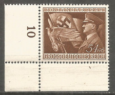 Germany REICH 1944 Year , Mint Stamp MNH (**) Mi. 865 - Unused Stamps