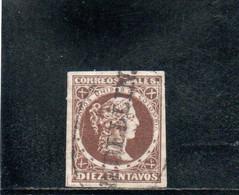 COLOMBIE 1876-80 O PAPIER AZUR - Kolumbien