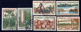 CENTRAFRICAINE - N° 248/253° - INDUSTRIE DU BOIS - Repubblica Centroafricana