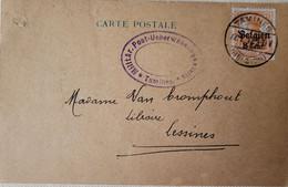 OC 13 - Carte Postale 1917 -Duculot Imprimerie Tamines (censure) - [OC1/25] Gov. Gen..