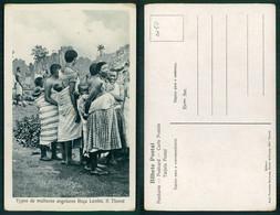PORTUGAL - SÃO TOMÉ E PRÍNCIPE  [ 0250 ] - TYPO DE MULHERES ANGOLARES ROÇA LEMBA - Sao Tome And Principe