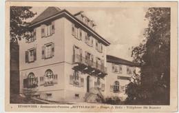 "STOSSWIHR - Restaurant-Pension ""HITTELBACH"" - Protr. J. Ertle - ... - Other Municipalities"