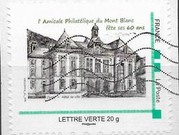 Timbre Collector Sur Coupon, 60 Ans De L'amicale Philatélique Du Mont Blanc - Collectors