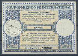 NORWAY / NORVEGE / NORGE Lo16n 100 ÖRE International Reply Coupon Reponse Antwortschein IRC IASo OSLO VIKA 04.05.60 - Enteros Postales
