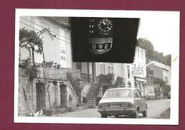 020421A - RARE PHOTO 1976 AUTOMOBILE PEUGEOT 504 Amende Pv Contravention Police LAROQUE DES ARCS Lot 46 - Auto's