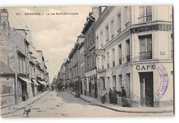 CPA 02 Soissons La Rue St Saint Christophe - Soissons