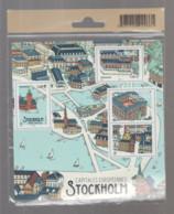 "FRANCE / 2021 / Y&T N° 5476/5479 ? ** En BF Ou  F5479 ** (Feuillet ""Capitales Européennes : Stockholm"") X 1 Sous Blister - Nuovi"
