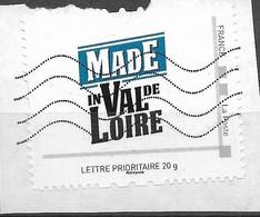 Timbre Collector Sur Coupon, Made In Val De Loire - Collectors