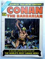 RECIT COMPLET Comics DC CONAN THE BARBARIAN TREASURY EDITION 4 - 1975 - Marvel