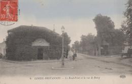 TF - 94 - LIMEIL BREVANNES - Le Rond Point Et La Rue De Boissy - Colorisée - Hotel Restaurant Au Coin Du Parc - Limeil Brevannes