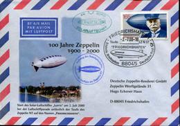 Germany Cover  - Aviation Transport Zeppelin - Zeppelins