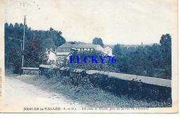 Nesles La Vallée Un Coin De Nesles Pris De La Rue Du Chenival - Nesles-la-Vallée