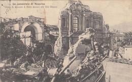 2352) La Catastrofe Di MESSINA - Chiesa S. Giovanni Di MALTA Accanto Alla VILLA MAZZINI - 1922 - Messina