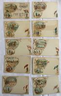 Lot De 10 Cartes -Exposition De 1900 Paris-632 - Exposiciones