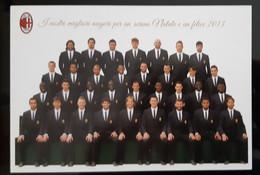 A.C. MILAN Football Team Carte Postale - Soccer