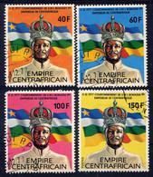 CENTRAFRICAINE - N° 324/327° - JEAN-BEDEL BOKASSA 1er - Central African Republic
