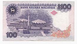 Billet Malaisie - 100  Ringgit - Bon état -  -Bank Note Malaysia - Voir Scans - Malaysia