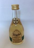 Mini Bouteille Alcool Mignonnette Liqueur De L'Abbaye De St Michel De Frigolet - Miniatures