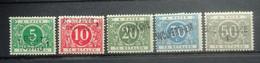 BELGIE 1919   Taxe-zegels  Tx 12 A - 16 A   Scharnier *   CW 400,00 - Zonder Classificatie