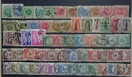 BELGIE   Samenstelling   Taxe-zegels   Gestempeld    Zie Foto - Zonder Classificatie